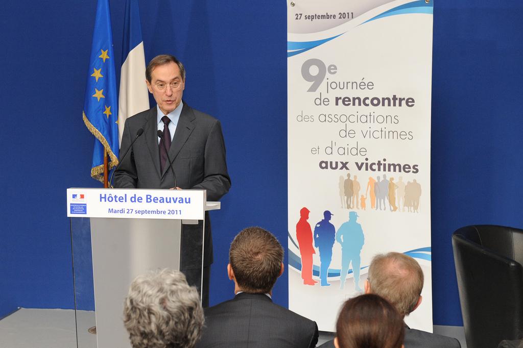 Ministre de l'Intérieur M. Guéant