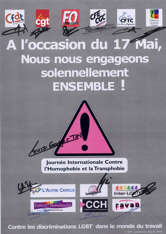 Affiche signée